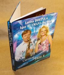 Дигибук DVD для 3х дисков.  Л.Долина и И.Бутман.