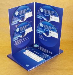 Диджифайл DVD для 4х дисков + слипкейс. Инфообщество