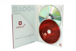 Диджипак DVD формата для 1 диска и толстого буклета. Mebius