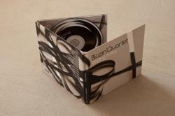 Диджипак CD формата на 1 диск с карманом под постер. Blazin`Quartet.