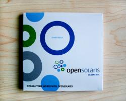 Диджислив CD формата на 2 диска. Open Solaris.