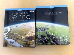 Диджипак на 4 Blu-Ray диска со слипкейсом. Планета Земля.