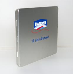 Тин-бокс на 1 диск. Danone.