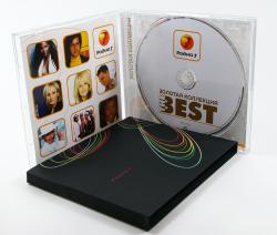 Jewel-box для 1 CD с буклетом и рукавом.