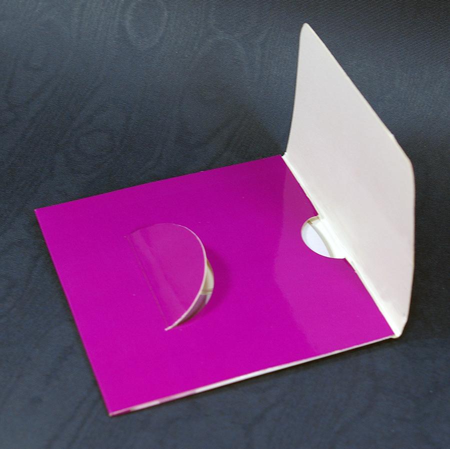 Как из картона сделать конвертик